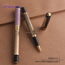 New design metal luxury pen with engraved logo