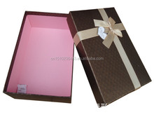 ribbon decoration paper material box gift packaging