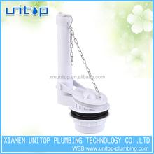 Flapper toilet single flush valve cistern flush mechanism fit for most toilets