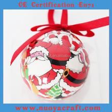 2015 New style Christmas decoration, 7cm diameter Christmas decoration ball wholesale