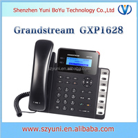 GXP1628 Small-Medium Business HD IP Phone with PoE Dual switched auto-sensing 10/100/1000 Mbps Ethernet ports