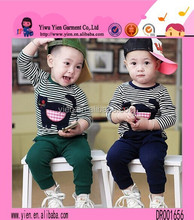 High Quality Black Cat Knit Pattern Custom One Piece Flexible Spring Baby Suits