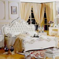 Bedroom furniture bedroom sets beautiful antique bed 1.8m