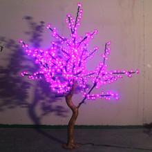 Newly wholesale pink led cherry tree light led ficus bonsai tree