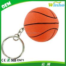 Winho Basketball Keychain Stress Ball