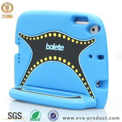 New eva foam universal tablet cover case for ipad mini with handdle grip
