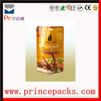 stand up zipper dried fruit packing bag,side gusset custom printed heat seal bag,plastic packing bag for dried fruit