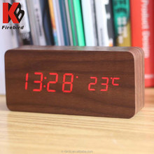 Factory direct large led digital wall clock with two power supply
