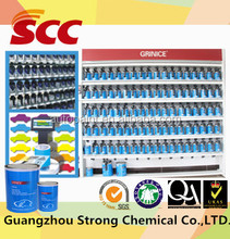 Good flow and easy application spray color coating