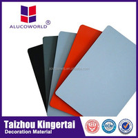 Alucoworld 4mm acrylic decorative wallboard panels fire resistant mdf aluminum composite panel carved decorative mdf panel