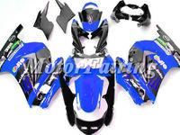 Ninja 250 Fairings For KAWASAKI Ninja EX 250 2008 2009 2010 2011 EX250 08 09 10 11 Ninja 250R 2008-2011 08-11 blue black