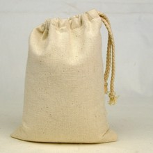 eco-friendly healthy cotton flour bags recycled custom made