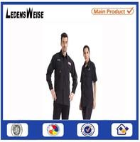 European style fancy fashion pure cotton black shirt on sale