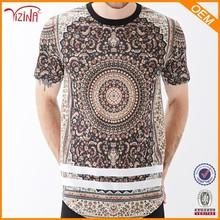 Scoop neck new model men's T- shirt fabric