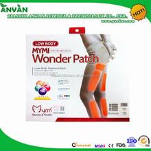 Great Price High Quality Slim Microcrystalline leg slimming magic stickers