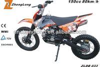 CE certification 125cc dirt bike kawasaki dirt bike
