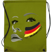 Drawstring Non-Woven Bag, GYM Promotional Gifts 80gsm PE Drawstring Non-Woven Bags with Image Printing, PromoMakerMart