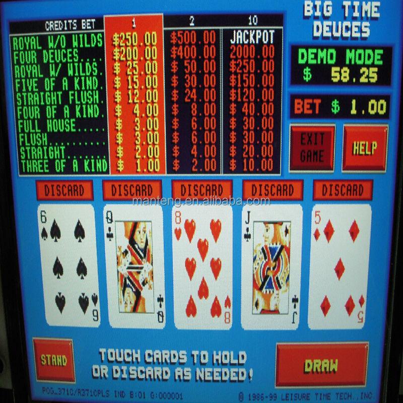 shamrock sevens video poker download