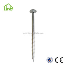 Hot dipped galvanized steel Q235 for Solar panel mounting Ground Spike