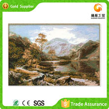 New Design Canvas Painting Abstract Resin Mosaic Diy Painting Mountain Scenery Oil Painting