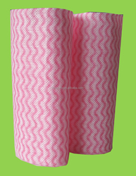 Spunlace nonwoven fabric for household kitchen