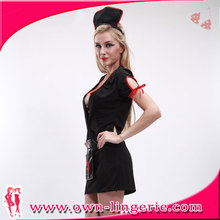 Wholesale From China latex pvc nurse costume