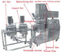 Cake Gel Making Vacuum emulsifier