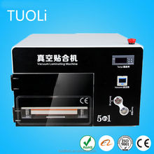 Automatic oca vaccum laminating, remove bubble for mobile phone lcd assembly separating machine
