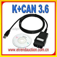 2015 Lastest Version Professional Diagnostic Tool VAG K+CAN COMMANDER FULL 3.6 For Audi For VW For Skoda With One Year Warranty