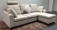 2015 New Modern Fabric Corner Sofa With a Ottoman