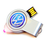 LED light USB thumb drive Mini USB flash drive 8GB
