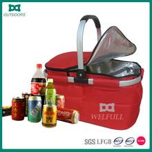 Wholesale folding picnic basket set