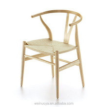 Hot Sale Wooden Dining Chair with Plywood and Paper String for Dining Room Furniture