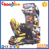 Coin Operated Driving Car Game Machine Over Take