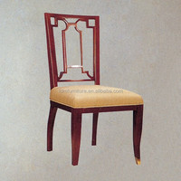 Wholesaler high quality hotel wood dining chair IDM-C034