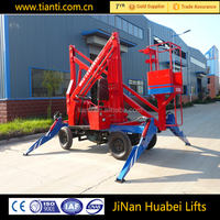 actuation boom lift / pickup truck mounted boom lift