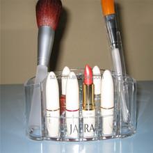 Customized handmade acrylic lipstick organizer for boutique