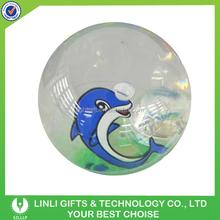Wholesale Custom Logo TPU LED Liquid Bouncing Ball,TPU Ball