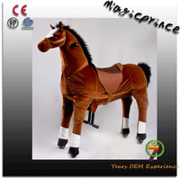 (EN71&ASTM&CE)~(Pass!!)~Dalian Magic Pirnce Human power Mechanical animal riding Happy walking animals rides