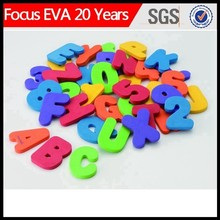 small plastic letter for child/small plastic number letter