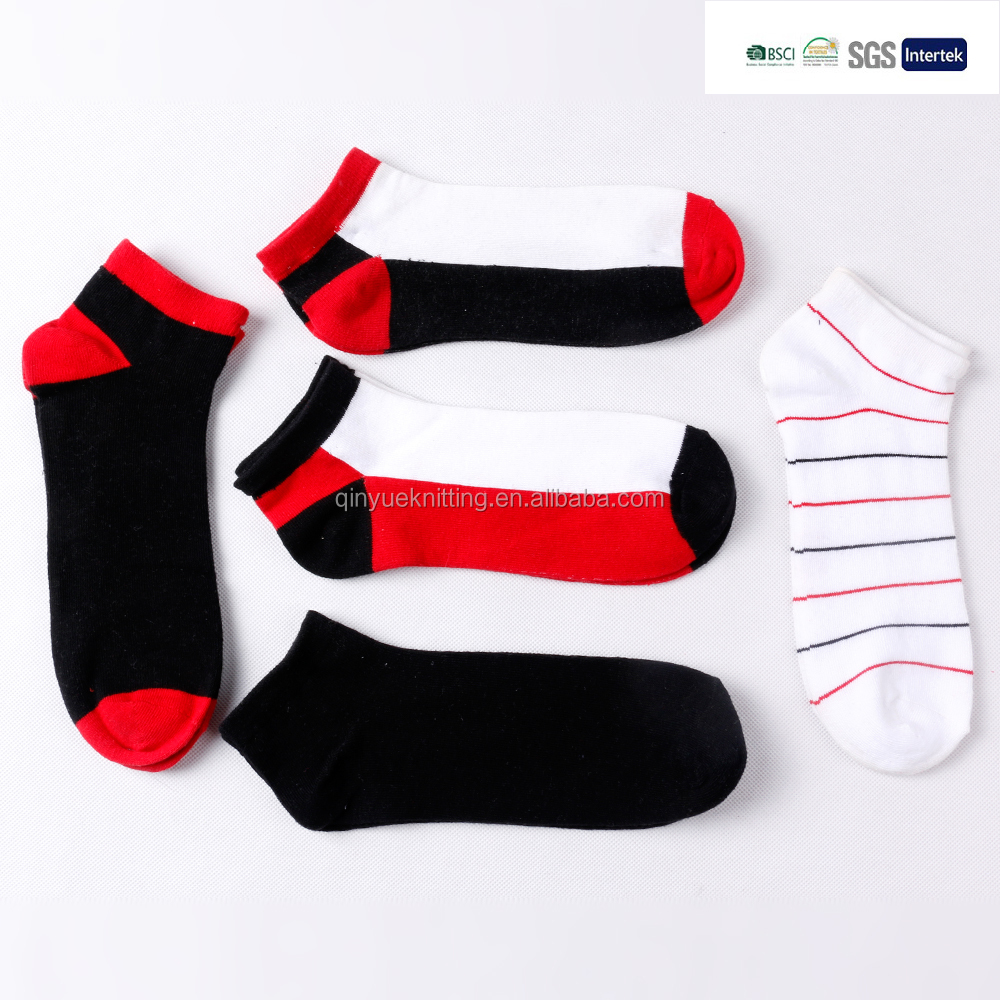Knitting Pattern For Cotton Socks : Fashion New Men Knitting Pattern Cotton Ankle Socks - Buy ...