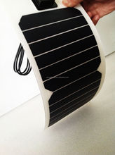 2pcs 6.5w Flexible solar panel/ fabric solar powered pack for laptop and cell phone