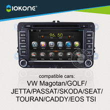 Factory supply vw car radio android 4.2.2 system with 3G/WIFI for Magotan