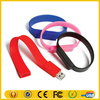 Customized Silicon USB Bracelet,Wristband USB Drive,Lady Watch Silicone PVC Flash Drive