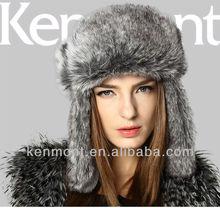 2013 Winter Trapper Cap Earflap waterproof hats km-1373