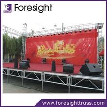 Aluminium frame wooden platform outdoor stage 2015