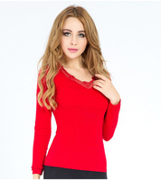 2015 winter heated thermal underwear for women