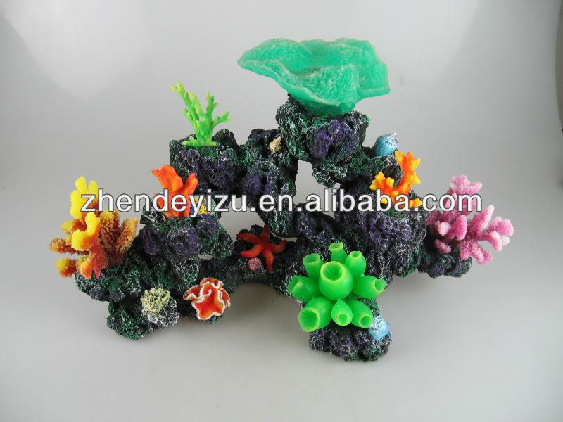 Populaire aquarium d cor coraux en 2013 silicone for Accessoire aquarium