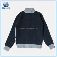 2015 Boys Children Winter Wool New Jacket Sweater Coat & Pants Thicken Kids Clothes Sets