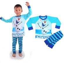 china export summer child clothing olaf teen boys sleepwear